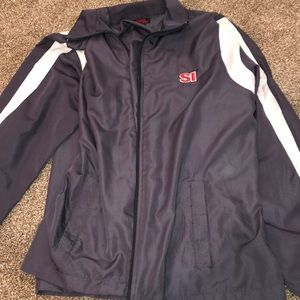 sports illustrated zip up jacket